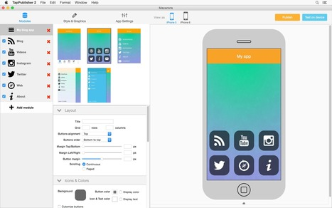 Introducing TapPublisher   Create mobile apps   Scoop.it