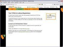 New TYPO3 Demo Web Sites in Versions 6.0, 4.7 and 4.5 LTS - openPR (press release) | Typo3 CMS Development | Scoop.it
