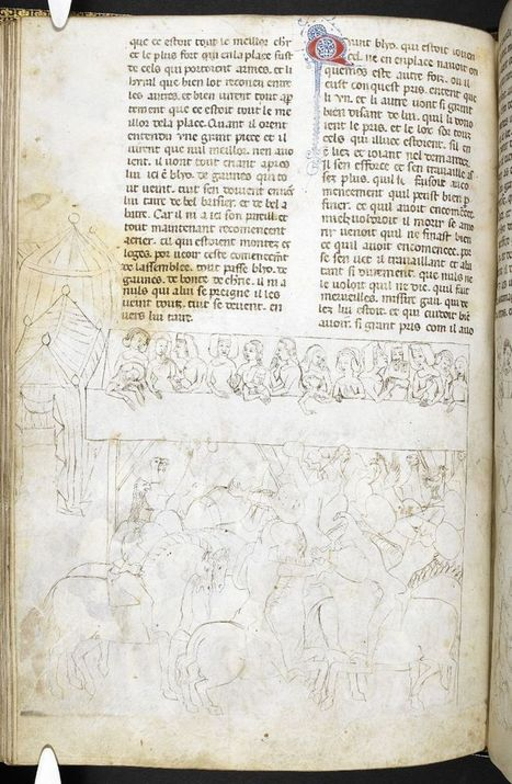 Camelot: The Prequel - Medieval and Earlier Manuscripts | Leggende arturiane | Scoop.it