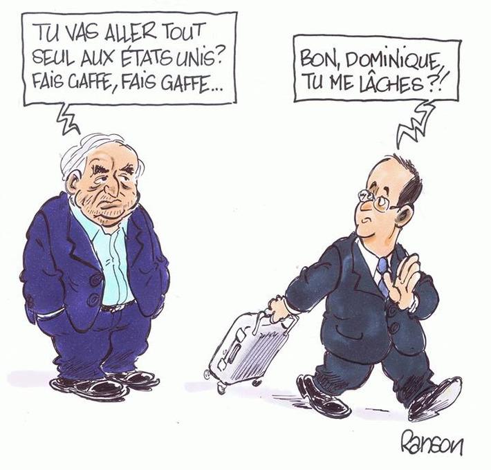 Hollande ira tout seul aux Etats-Unis | Baie d'humour | Scoop.it