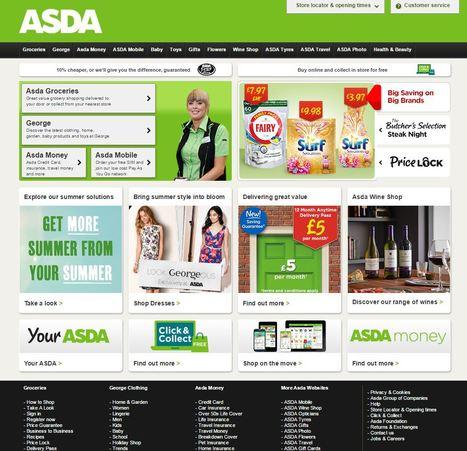 L'anglais Asda va tester un point de retrait click & collect 24/24 | Magasin digital et connecte | Scoop.it