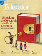 "Wow, Must-Read New Issue Of ""American Educator"" On Teaching English Language Learners! 