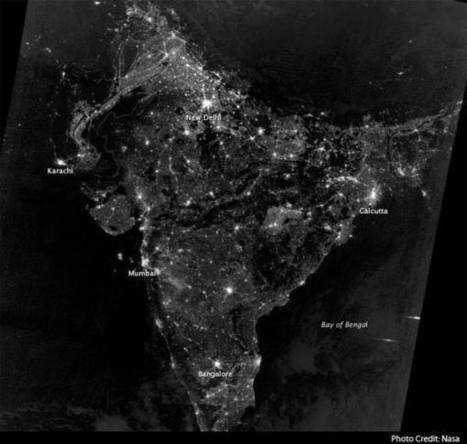 NASA releases map of India on Diwali night   Switch Magazine   Scoop.it