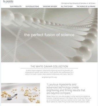 La Prairie creates shoppable moments through content | Luxury, fashion and marketing | Scoop.it