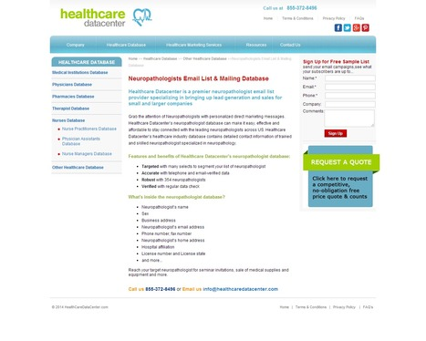 Neuropathologists Email List will give you an edge over your competitors | Healthcare Datacenter | Scoop.it