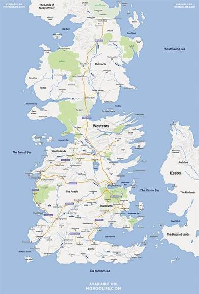 Game of Thrones' Westeros remade in Google Maps by Reddit user - The Independent | INTRODUCTION TO THE SOCIAL SCIENCES DIGITAL TEXTBOOK(PSYCHOLOGY-ECONOMICS-SOCIOLOGY):MIKE BUSARELLO | Scoop.it