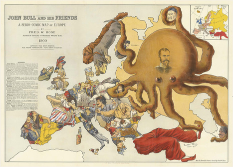 These Colorful Propaganda Maps Fueled 20th-Century Wars | History 2[+or less 3].0 | Scoop.it
