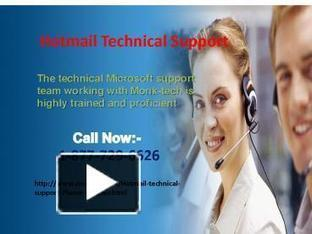 Call Hotmail Technical Support USA Canda +1-877-729-6626 | Tech support | Scoop.it