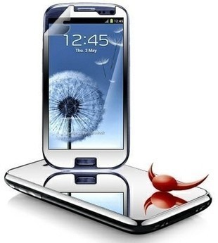 Mirror Screen Protector for Samsung Galaxy S3 Mini | Mobile Phone Accessories | Scoop.it