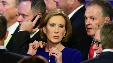 Fiorina gains ground on social media during debate | Swing your communication | Scoop.it