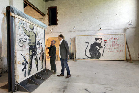 10 Social Marketing Lessons From Banksy via @Curagami | Curation Revolution | Scoop.it