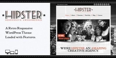 Hipster: Premium Retro WordPress Theme Free Download | WordpressThemes | Scoop.it