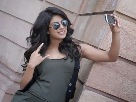 Priyanka Chopra looking quite gorgeous with her popular brown colored aviators. | fashionscot | Scoop.it