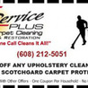Service PLUS Carpet Cleaning, Restoration and Janitorial Inc