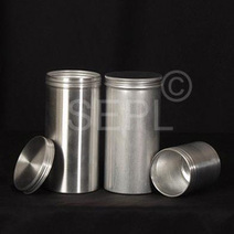 Buy Quality Aluminum Canisters with screw Lids for Kitchen & Pharmaceutical | Aluminum Bottles Manufacturers | Scoop.it