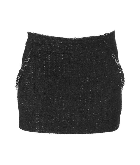 Black Studded Wool Mini-Skirt , Apparel and Accessories Products, Women's Clothing Manufacturers, Black Studded Wool Mini-Skirt Suppliers and Exporters Directory   Adventure Tours   Scoop.it
