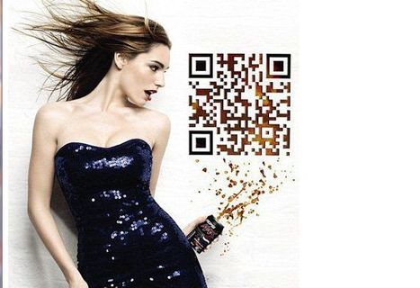 10 Cool And Inspiring Uses Of QR Codes: The Latest Hottest Thing   Mobile - Mobile Marketing   Scoop.it