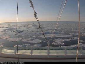 #Webcam  MS Fram, #Hurtigruten à Myggbukta au #Groenland nord-est #banquise | Hurtigruten Arctique Antarctique | Scoop.it