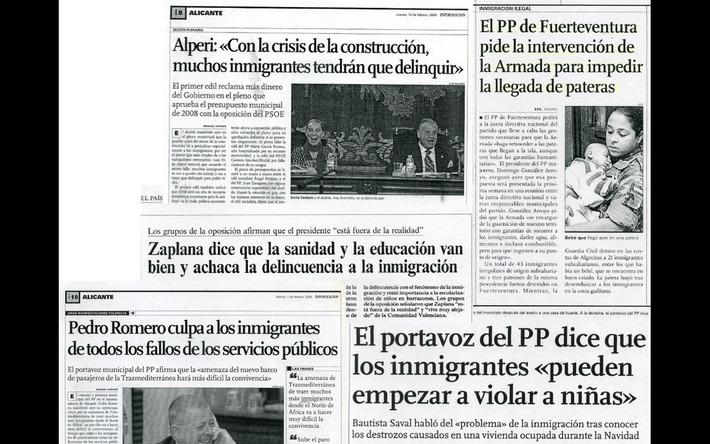 Un Partido Popular profundamente xenófobo | Partido Popular, una visión crítica | Scoop.it