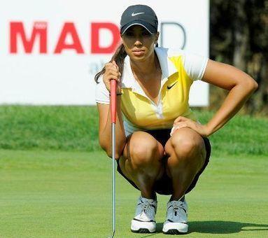 Gran arranque de Patricia Sanz y Cheyenne Woods en la escuela americana | clases golf barcelona | Scoop.it