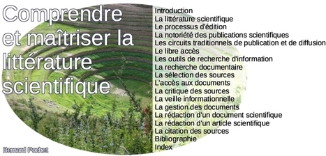 Comprendre et maîtriser la littérature scientifique | Notebook | Scoop.it