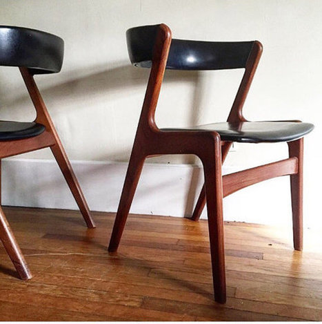 Kai Kristiansen Dining Chairs | whats been spotted on etsy today? | Scoop.it