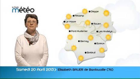 Elisabeth de Bardouville (76) présente la météo du samedi 20 avril | Ouï dire | Scoop.it