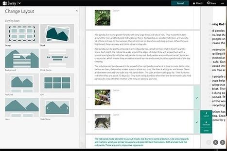 Conoce esta nueva forma de hacer presentaciones con Sway | Aplicaciones y Herramientas . Software de Diseño | Scoop.it
