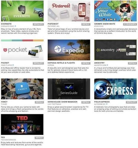 Google elige las diez mejores aplicaciones Android de 2012 | Recull diari | Scoop.it