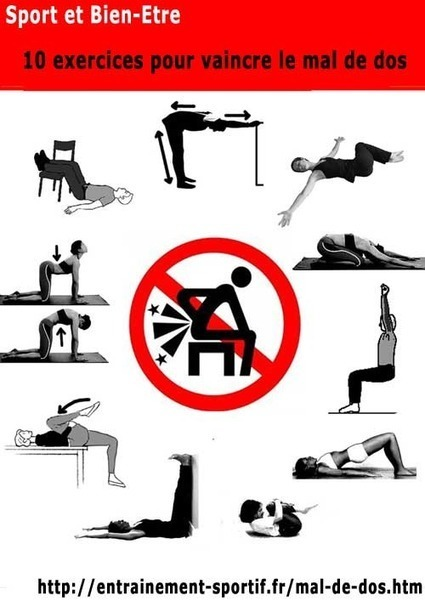mal de dos 10 exercices contre le mal de dos. Black Bedroom Furniture Sets. Home Design Ideas