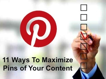 11 Ways To Maximize Your Pinterest Pins | DV8 Digital Marketing Tips and Insight | Scoop.it