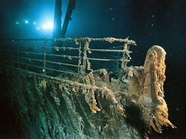 Titanic Discoverer Suggest Robotic Paint Job | e-Expeditions | e-Expeditions News | Scoop.it