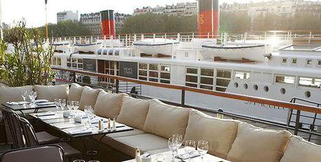 Où dîner sur la Seine ? | Epicure : Vins, gastronomie et belles choses | Scoop.it