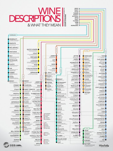 Guide to 120 Wine Descriptors | Wine, history and culture... | Scoop.it