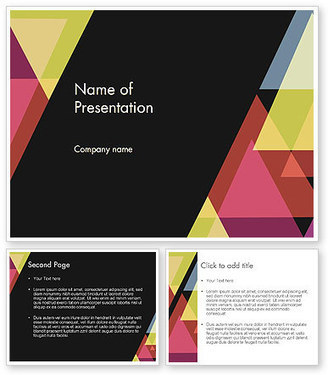 Geometric Abstraction PowerPoint Template | PowerPoint Presentations and Templates | Scoop.it