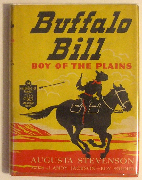 Buffalo Bill Boy of the Plains 1948 Children's Book | Daily Paper | Scoop.it
