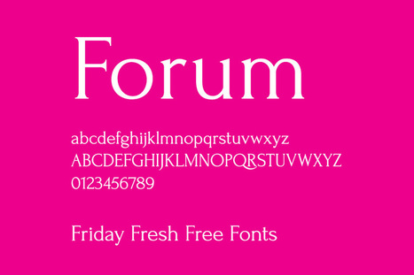 Friday Fresh Free Fonts - Housegrind, Forum, ... | Abduzeedo Design Inspiration & Tutorials | Communication Création | Scoop.it