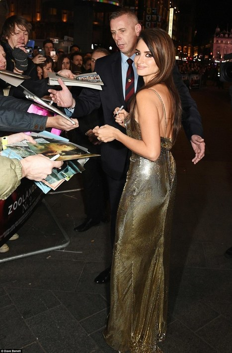 Penelope Cruz is a sexy senorita at London premiere of Zoolander No.2 | Film news for AS and A2 | Scoop.it
