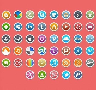 50 Of The Best Free Icon Sets From 2011   Creative Nerds   Communication and Autism   Scoop.it