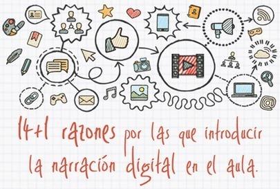 14+1 razones para introducir la narración digital en el aula | Nuevas tecnologías aplicadas a la educación | Educa con TIC | TICs para Docencia y Aprendizaje | Scoop.it