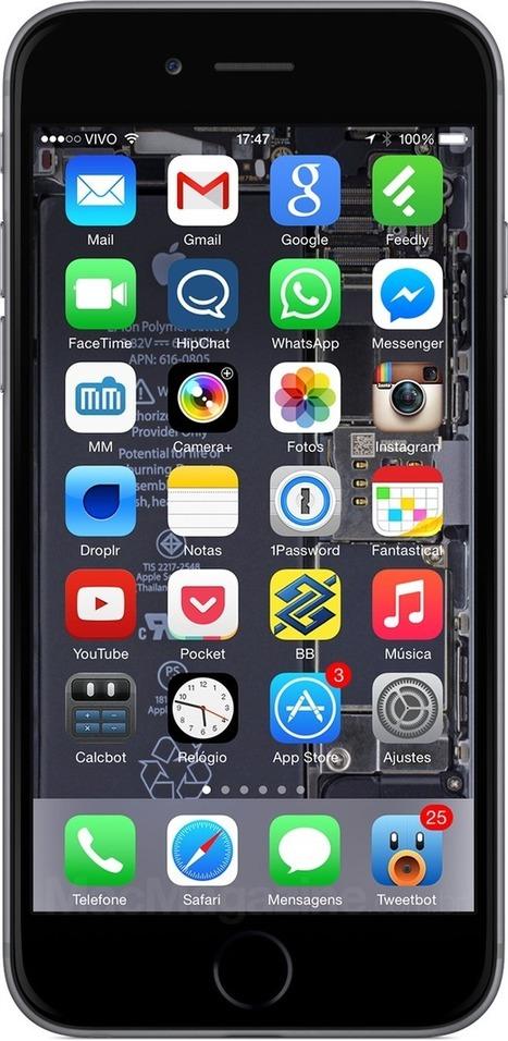 ↪ Virou tradição: iFixit libera wallpapers com os componentes internos dos iPhones 6 | Apple iOS News | Scoop.it