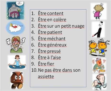 Français langue étrangère: LES EXPRESSIONS AVEC ÊTRE/AVOIR | FLE | Scoop.it