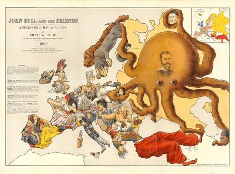 Mapas pictóricos de guerras del siglo XX | Enseñar Geografía e Historia en Secundaria | Scoop.it