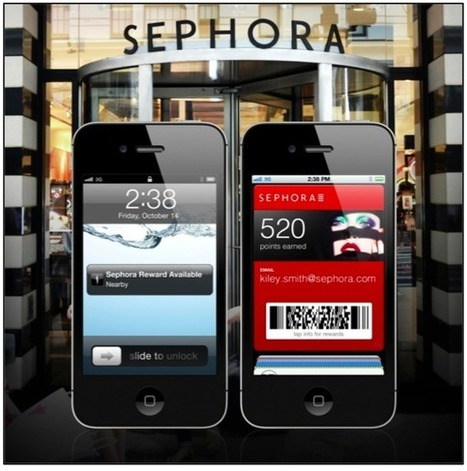 Sephora Makes Mobile the Ultimate Personal Shopper | Agora | Scoop.it