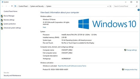 Windows 10 on MeLE PCG03, PCG01 and Other Intel Atom Z3735F Devices | Embedded Systems News | Scoop.it