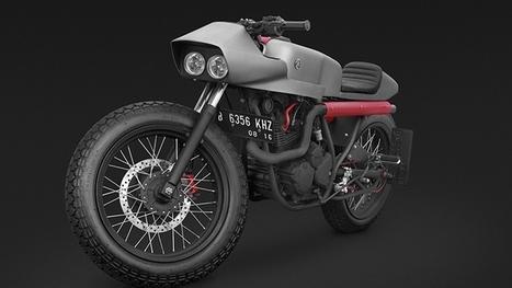 Scorpio, Indonesia's Coolest Custom Yamaha - autoevolution | vintage motos | Scoop.it