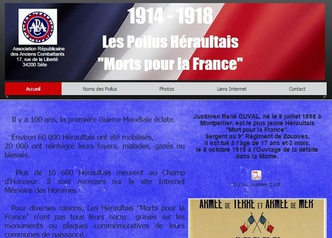 1914 1918 Les Héraultais Morts pour la France | Nos Racines | Scoop.it