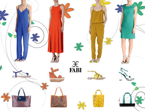 Fabi Colorful Summer 2014 outfits | Le Marche & Fashion | Scoop.it