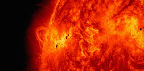 The scorching winds on the surface of the sun range from 500,000 to 2,000,000 mph, and how we forecast them | Amazing Science | Scoop.it