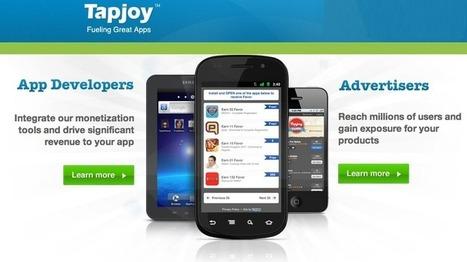 TapJoy lève 30 M$ pour s'imposer dans la monétisation d'applications | Radio 2.0 (En & Fr) | Scoop.it
